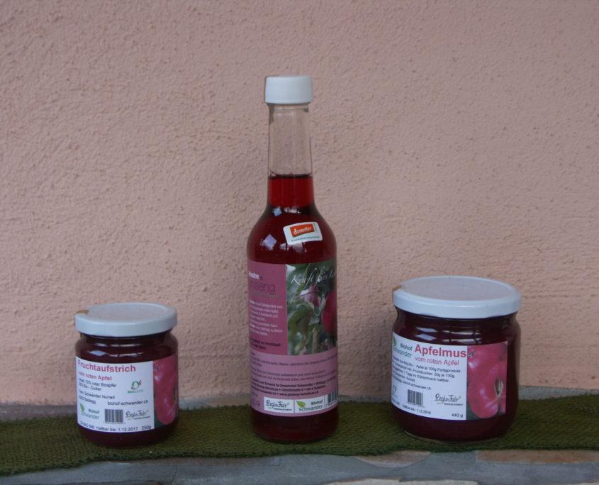 Unsere Produkte des roten Apfels